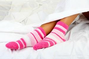 Женщинам комфортнее заниматься сексом в носках