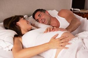 Секс вызывает роды при беременности