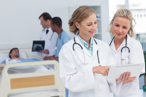 Регистратура больницы пущино