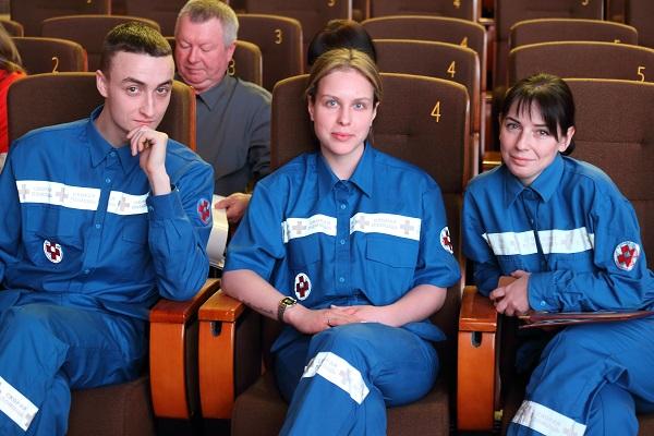 Состоялось посвящение молодых специалистов скорой и неотложной помощи